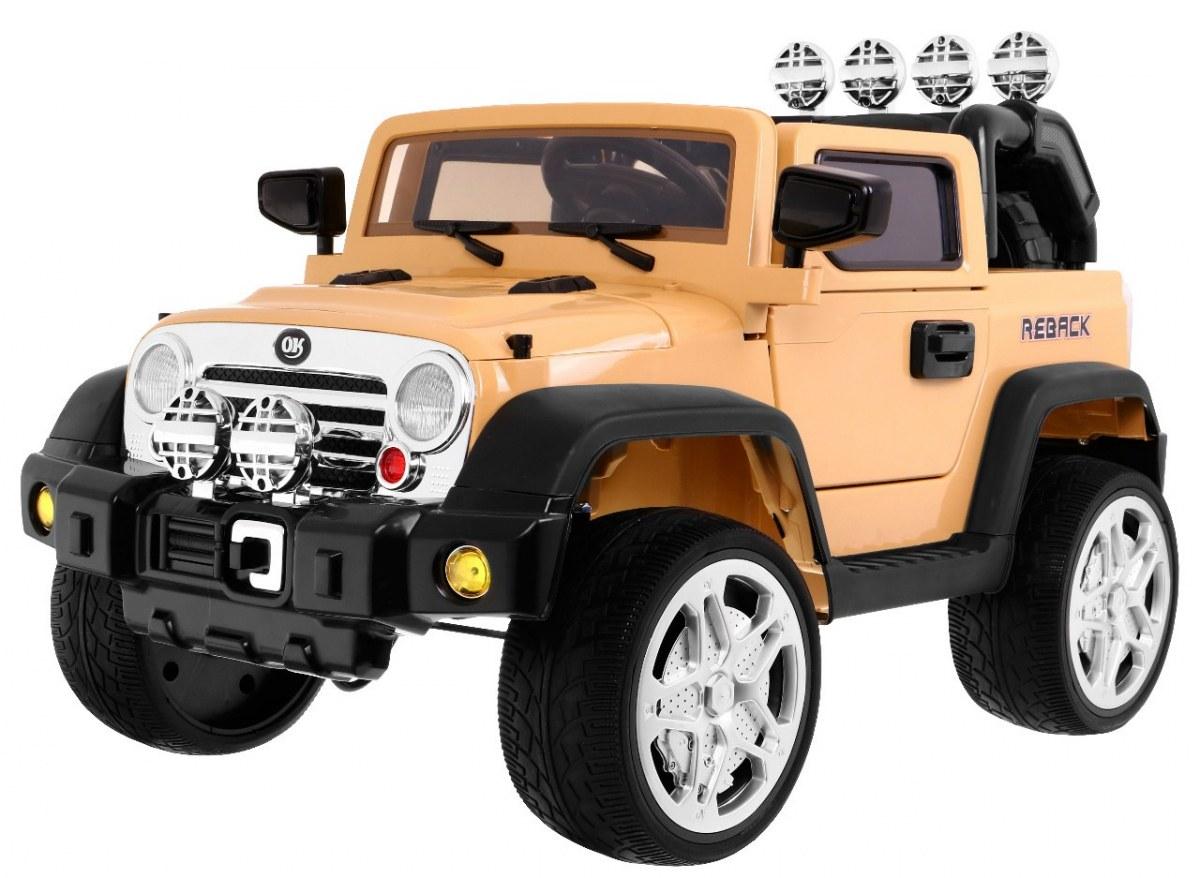 Dětské elektrické auto autíčko JEEP REBACK